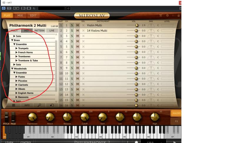 楽器の種類