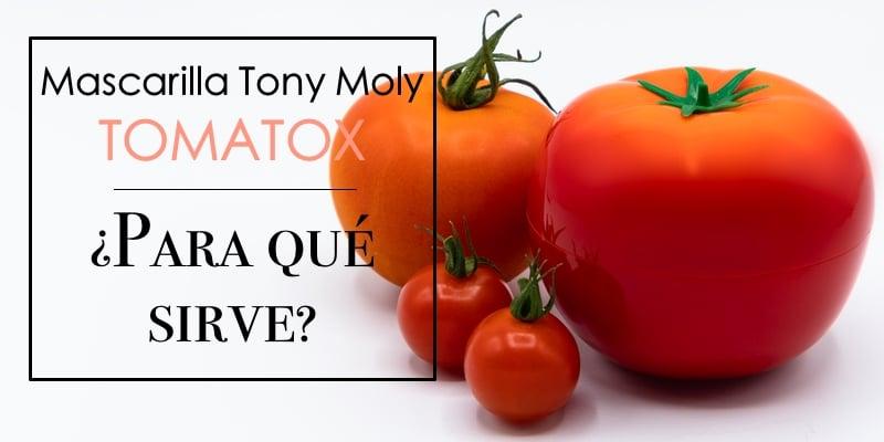mascarilla tomatox para qué sirve
