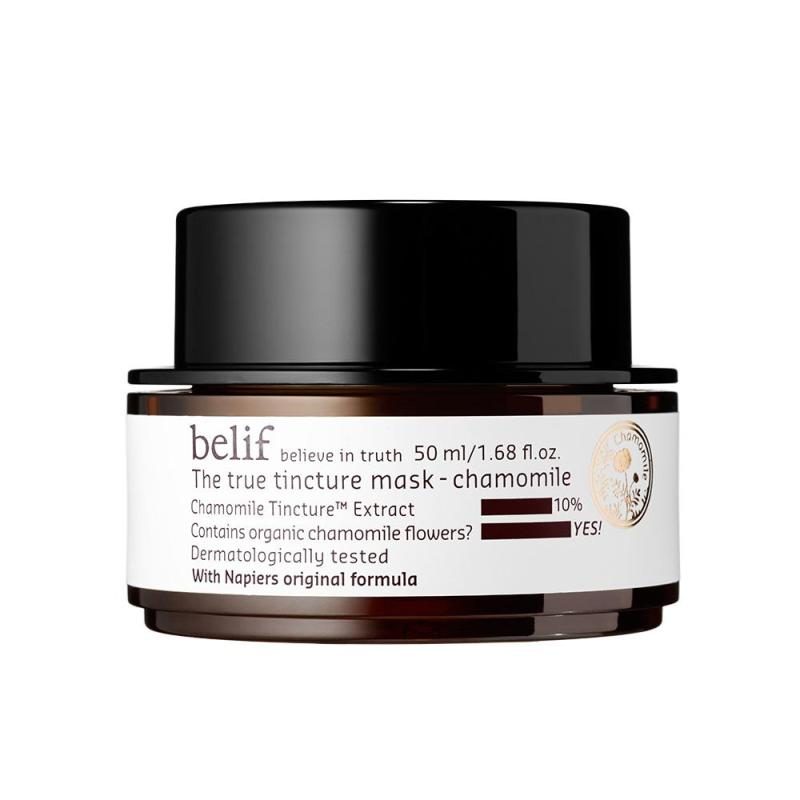 the true tincture mask chamomile belif