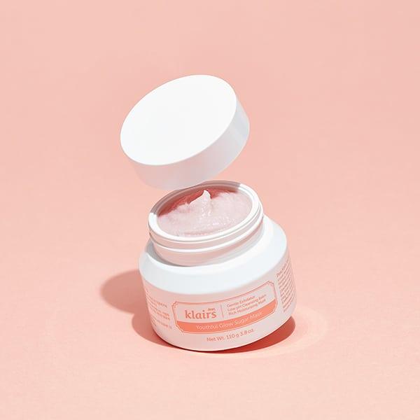 youthful glow sugar mask klaris cosmetics Mejores mascarillas coreanas