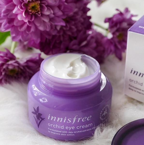 Jeju Orchid Eye Cream innisfree crema contorno de ojos