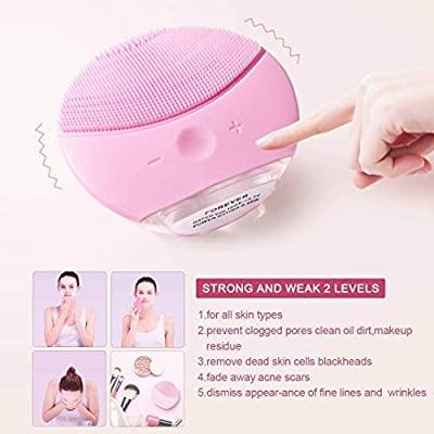 xiaoyi limpiadores faciales eléctricos de silicona