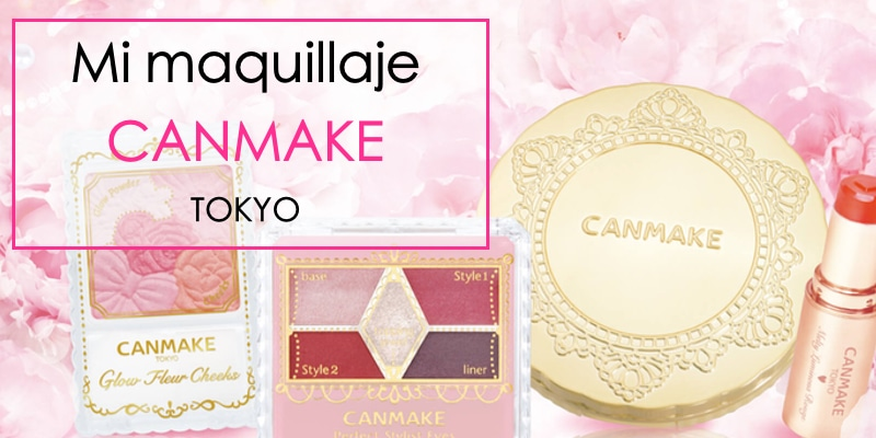 mi maquillaje japonés de Canmkae tokyo