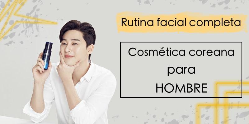 cosmética coreana para hombre