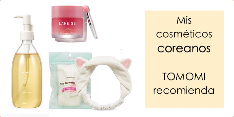 Mejores productos de cosmética coreana