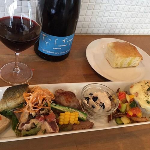 ナチュラルワインでオーガニック料理を ! イタリアン&カフェ 夙川トリニティ(178号)