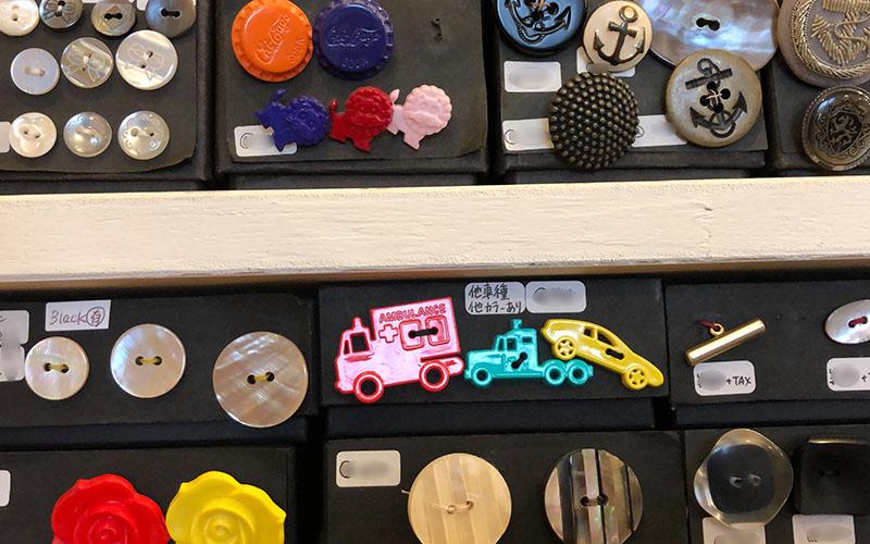 飯島さんが集めた世界中のボタン