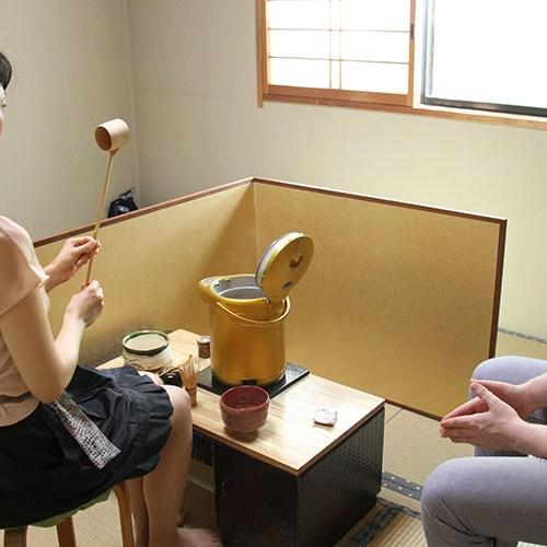 国際茶道教室 地球上、どこの国でもできる茶道です