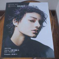 ガモウ広島という美容ディーラーの冊子に作品掲載されました
