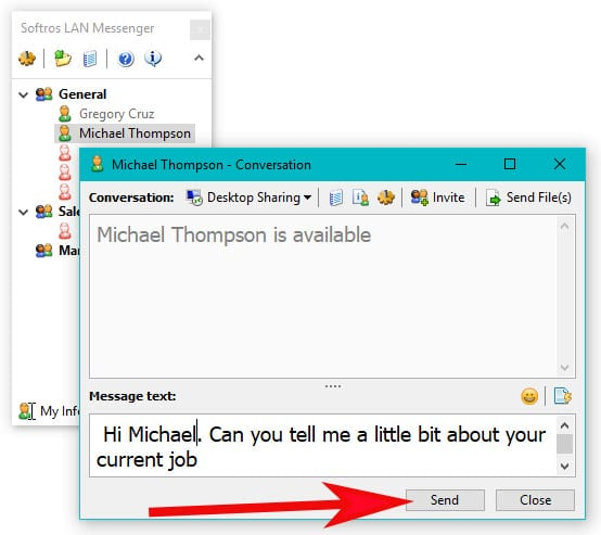 Tip: Send a message to PC screen on the same LAN | © Tom Pai