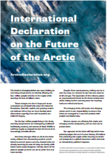 international declaration on the future of the arctic