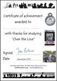 OTL certificate