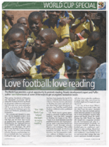 Love football Love reading