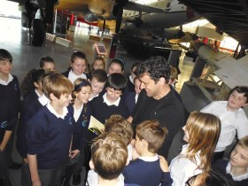 Combat Zone Book Launch at RAF