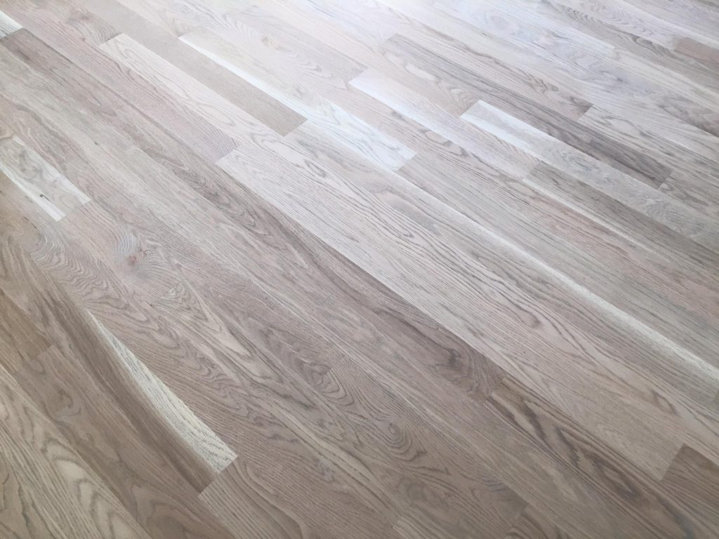 Solid White Oak 3 1 4 Quot Hardwood Floor Installation Chicago
