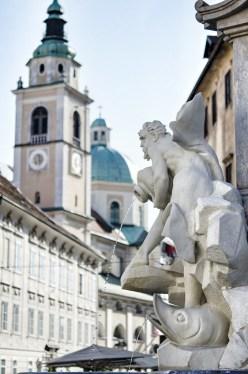 Ljubljana - The Robba Fountain