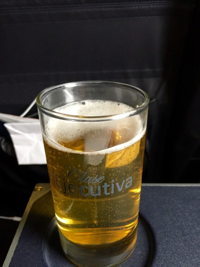 Clase Ejecutiva Beer Glass