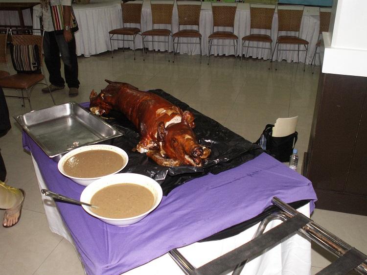 Philippino Banyuhay Feast Pig