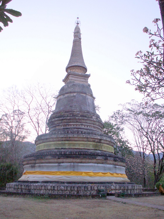 Ancient Stuppa in Thailand