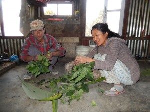 HIV-AIDs Positive Couple Preparing Feed for Their Pigs