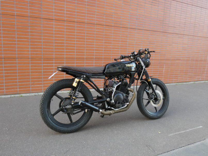 Ybr 125 Brat Style Tom Racing Designs