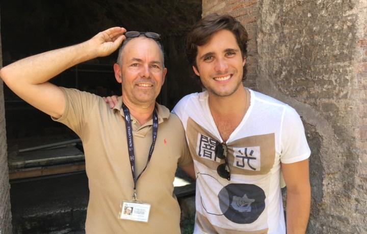 Diego Boneta with Tom Rankin