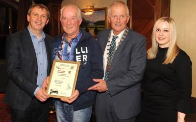 Tom receives volunteer award in Killarney