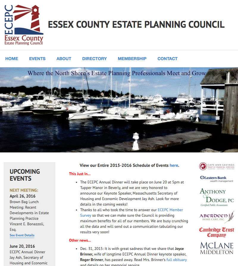 Essex County Estate Planning Council