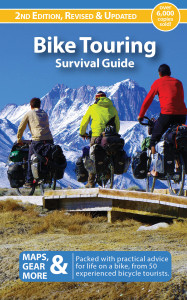Cover of Bike Touring Survival Guide by Friedel & Andrew Grant
