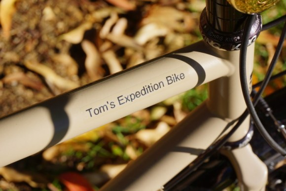 Tom's Expedition Bike