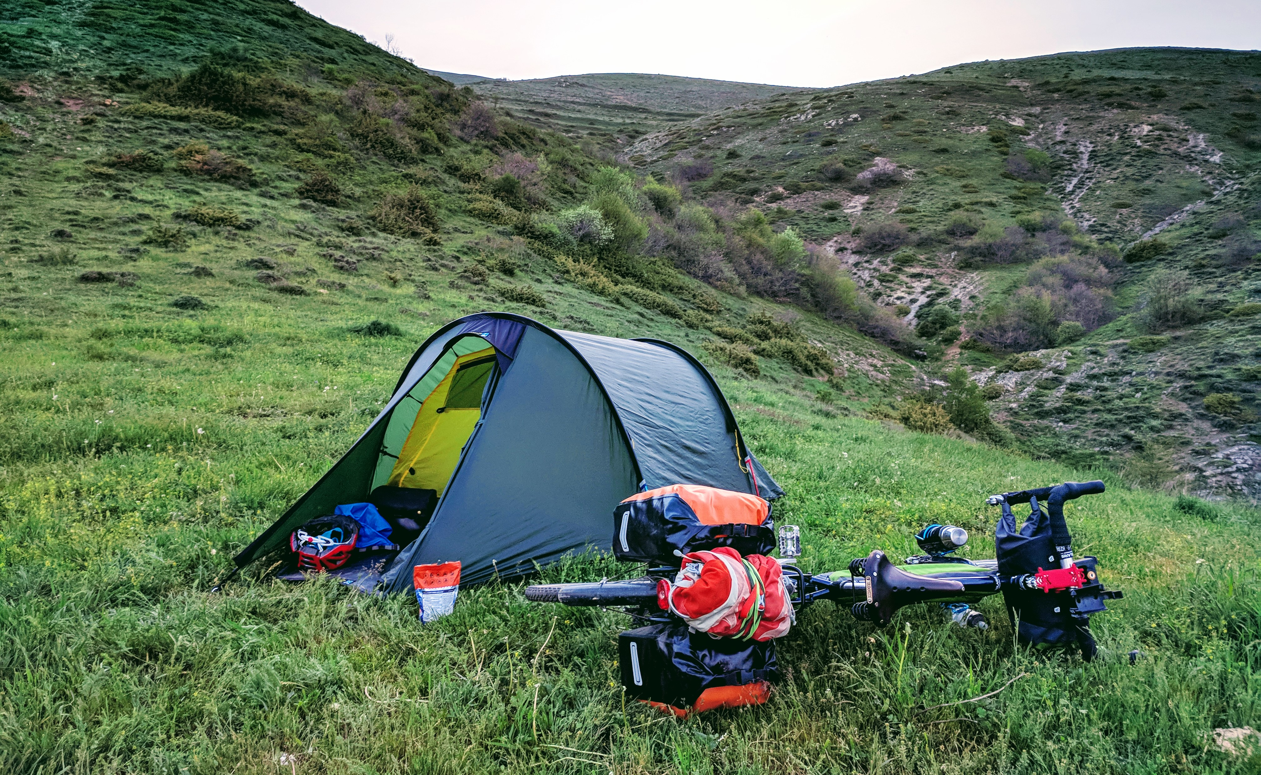 What Are The Best Tents For Cycle Touring & Bikepacking