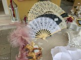 Fans, masks and lace, Burano