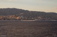 Celebrity Eclipse following Oceana out of Messina