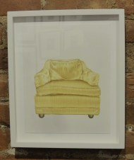 CHAIR #4......Sara Sanders 12 color hand-drawn Lithograph