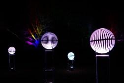 Winterlichter im Park