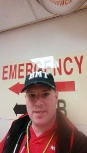 EMT Thomas Slatin Selfie December 2014