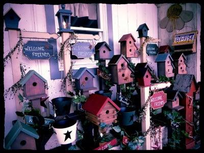 Pennsylvania-Dutch-Bird Houses
