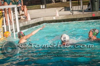 Taylor Water Polo Novice Tournament (vs Helix) 1-24-2015 0179