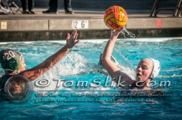 Taylor Water Polo Novice Tournament (vs Helix) 1-24-2015 0180