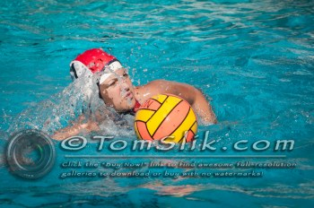 Taylor Water Polo Novice Tournament (vs Vista) 1-24-2015 0007