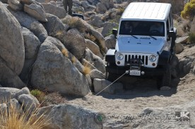 Finally, a winch was deployed to give a little tug and he was good-to-go
