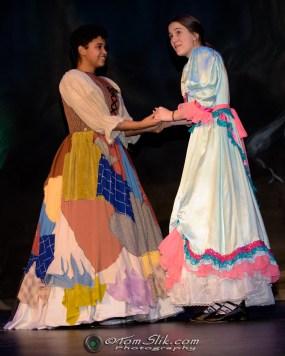 PHS Theatre Cinderella rehearsal 2-1-2018 0227
