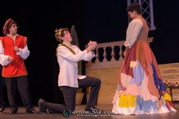 PHS Theatre Cinderella rehearsal 2-1-2018 0302
