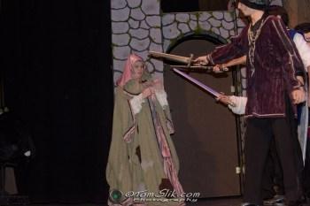 PHS Theatre Cinderella rehearsal 2-1-2018 0342