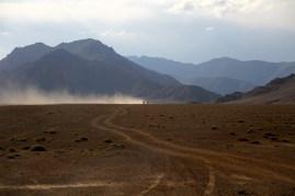 Desert drive - near Murghab
