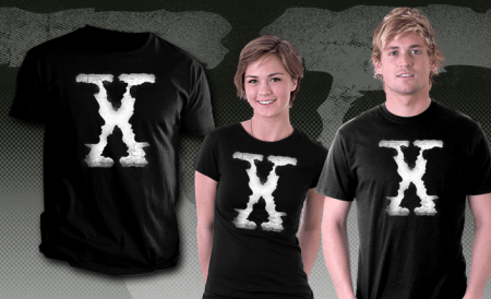 Scully and Mulders X-Files T-Shirt