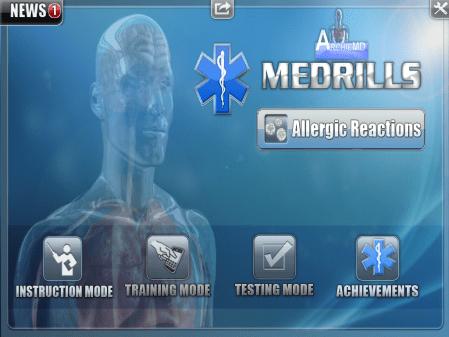 iOS paramedic app
