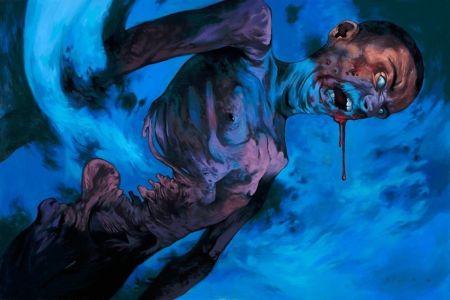 Steven Russell Black art piece