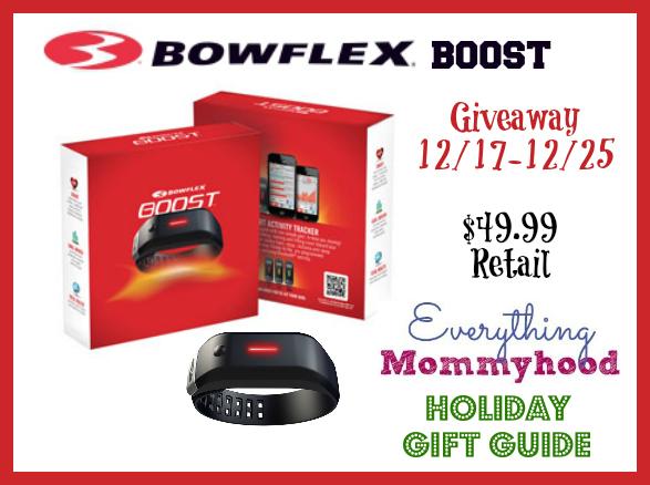 Bowflex Boost giveaway