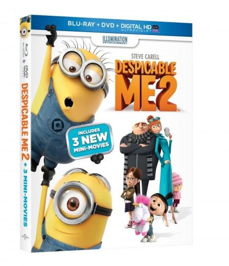 Despicable Me 2 Box Cover